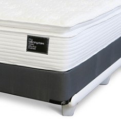 My Bloomingdale's - Queen Classic Pillow Top Mattress & Split Box Spring Set - 100% Exclusive