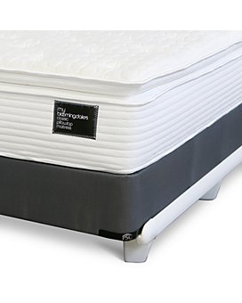 My Bloomingdale's - Twin Classic Pillow Top Mattress & Box Spring Set - 100% Exclusive