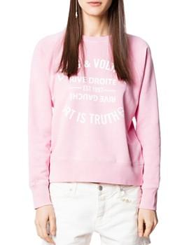 Zadig & Voltaire - Upper Blason Sweatshirt