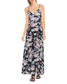 VINCE CAMUTO - Poetic Blooms Sleeveless Printed Maxi Dress