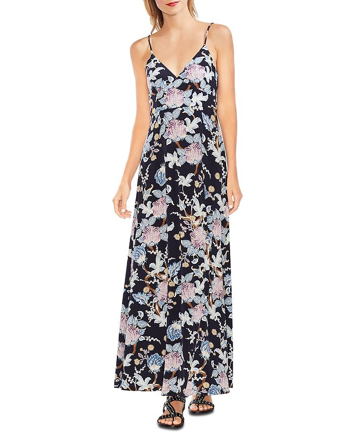 e39896babfcd VINCE CAMUTO Poetic Blooms Sleeveless Printed Maxi Dress ...