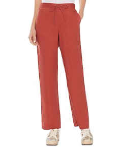 VINCE CAMUTO - Drawstring Linen Pants