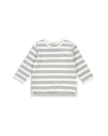 Miles Baby - Unisex Hello Velo Stripe Long-Sleeve Tee - Baby