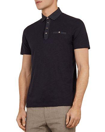 Ted Baker - Saharah Geo Collar Regular Fit Polo Shirt