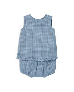 Ralph Lauren - Girls' Gingham Cotton Top & Shorts Set - Baby