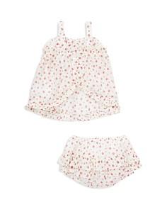 Ralph Lauren - Girls' Floral Ruffled Top & Shorts Set - Baby
