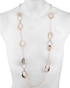 Alexis Bittar - Link & Station Necklace, 42""