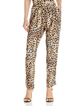 8ca21bfe42a Ronny Kobo - Amra Cheetah Print Pants ...