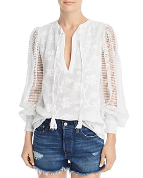 Place Nationale - La Tille Floral Lace Top