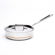 All-Clad - Copper Core 2 Quart Covered Sauce Pan