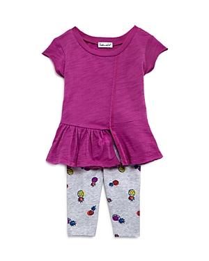 Splendid Girls Pineapple Print Leggings  Asymmetric Tunic Set  Baby