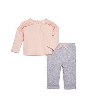 Bloomie's - Girls' Polka-Dot Pants & Ruffled Top Set, Baby - 100% Exclusive