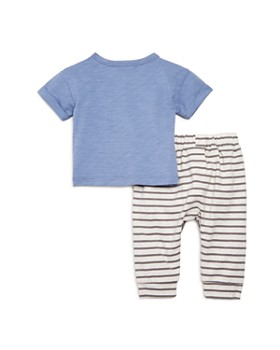 Bloomie's - Boys' Striped Jogger Pants & Henley Tee Set, Baby - 100% Exclusive