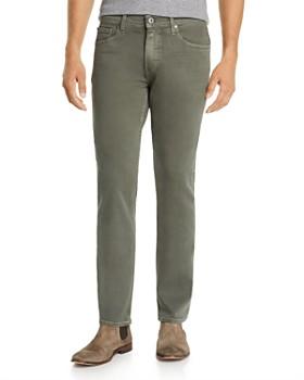 PAIGE - Lennox Slim Fit Jeans in Vintage Dark Forest
