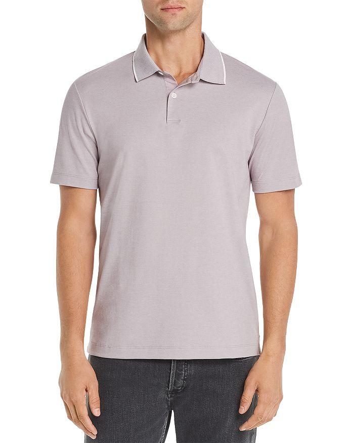 Theory - Current Piqué Standard Regular Fit Polo Shirt