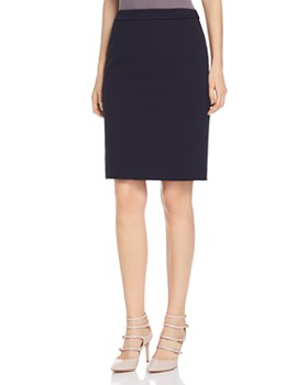 BOSS - Vilea Tonal Houndsooth Pencil Skirt - 100% Exclusive