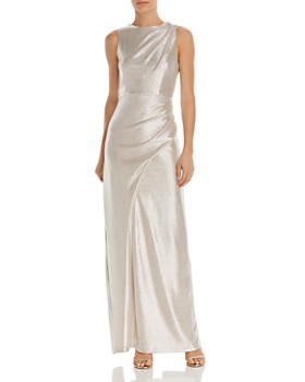 Aidan by Aidan Mattox - Metallic Jersey Gown