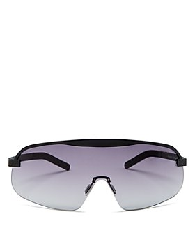 Illesteva - Women's Hopper Shield Sunglasses, 156mm