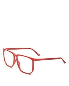 Quay - Unisex Stranger Square Screen Glasses, 60mm