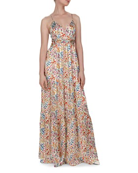 ba&sh - Rosy Cutout Floral Maxi Dress