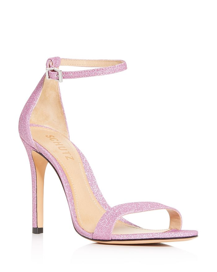 SCHUTZ - Women's Cady-Lee Glitter High-Heel Sandals