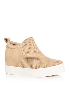 e6ce824d28bf J Slides - Women s Sallie Hidden Wedge Sneaker Booties ...