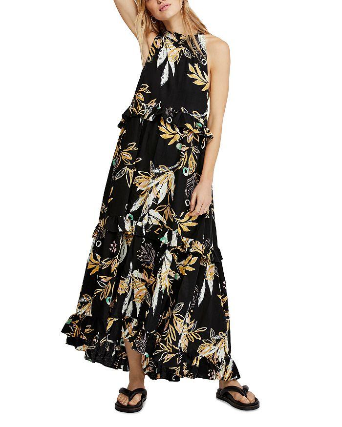 Free People - Anita Botanical-Print Maxi Dress