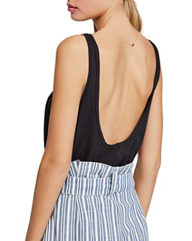 Free People - Carly Low-Back Tank