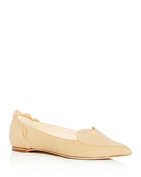 50a53e5e7 Isa Tapia - Women s Clement Pointed-Toe Heart Flats ...