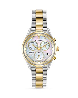 Citizen - Chandler Mother-of-Pearl Dial Eco-Drive Chronograph, 32mm