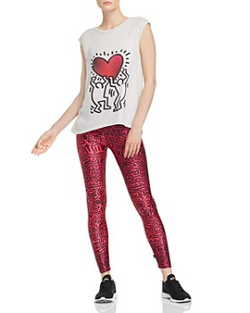 b309ce6ff8 Terez - Terez Keith Haring Uplifted Heart Tank & Hearts In Harmony Leggings
