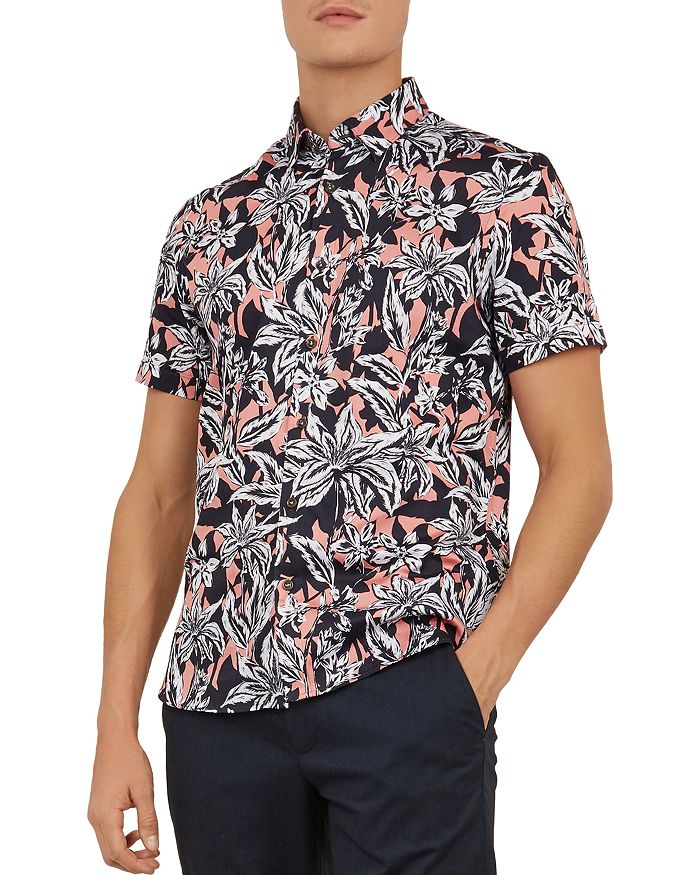 Ted Baker - Octapss Statement Slim Fit Shirt