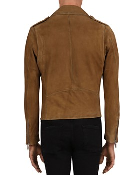 The Kooples - Suede Moto Jacket