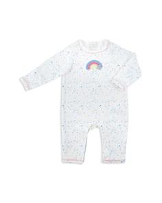 Albetta - Girls' Crochet-Rainbow Coverall - Baby