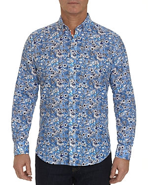 Robert Graham Cameron Floral Print Classic Fit Shirt