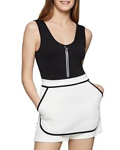 BCBGENERATION - Zip-Front Bodysuit