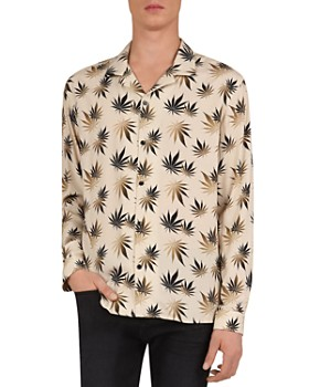 The Kooples - Dark Leaves Regular Fit Shirt