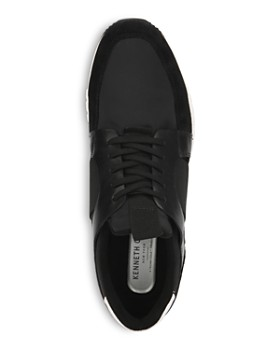 Kenneth Cole - Men's Bailey Jogger B Leather Lace-Up Sneakers