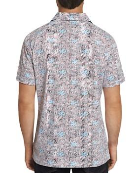 Robert Graham - Marda Short-Sleeve Wavy-Striped Classic Fit Shirt