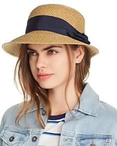 PHYSICIAN ENDORSED - Spectator Metallic Straw Sun Hat