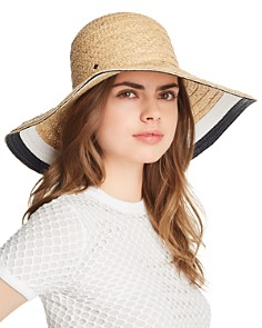 kate spade new york - Color-Block Detail Sun Hat