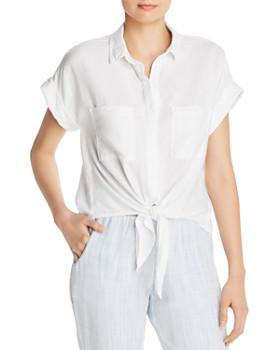 02558d04 Bella Dahl - Tie-Front Shirt - 100% Exclusive ...