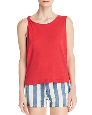 Current Elliott Tops CURRENT/ELLIOTT THE TIED UP MUSCLE TANK