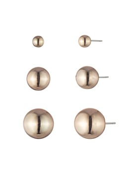 Ralph Lauren - Multi-Size Sphere Stud Earrings