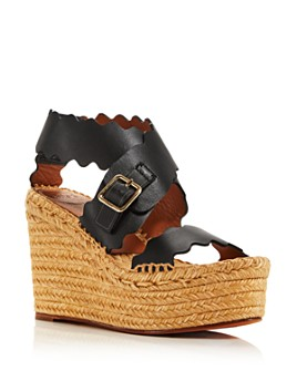 Chloé - Women's Lauren Espadrille Wedge Sandals