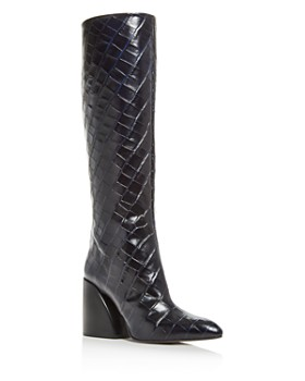 Chloé - Women's Wave Leather Tall Boots