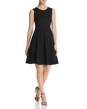 T Tahari - Ponte Fit-and-Flare Dress