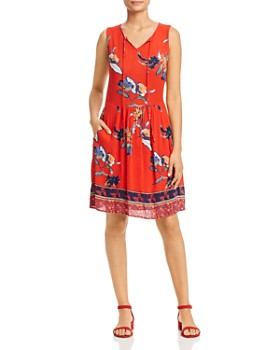 Vero Moda - Olina Floral-Print Dress