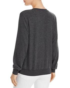 WILDFOX - Baggy Beach V-Neck Sweatshirt