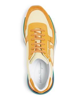 dc0ce0e4548 ... Salvatore Ferragamo - Men s Brooklyn Leather Low-Top Sneakers